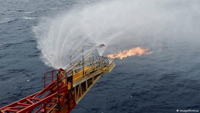 Südchinesisches Meer Abbau Methanhydrat (Imago/Xinhua)