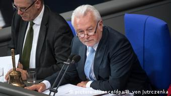 Wolfgang Kubicki during a plenary session of the Bundestag (picture-alliance/dpa/B. von Jutrczenka)