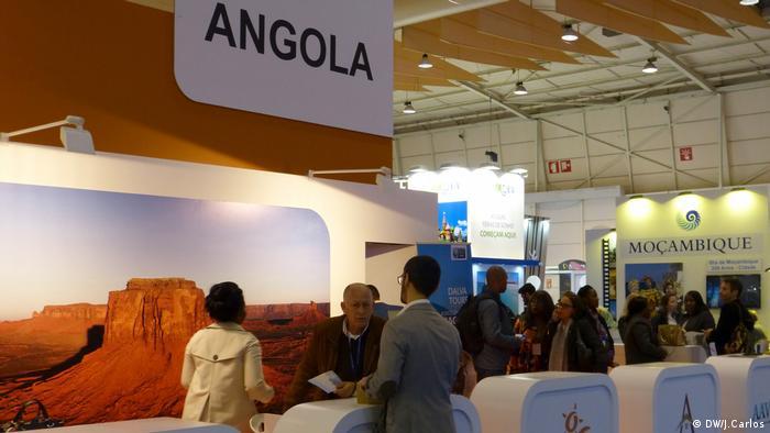 Stand de Angola na Bolsa de Turismo de Lisboa 2018