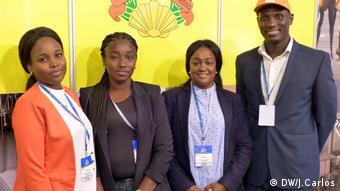 Stand aus Guinea-Bissau in BTL 2018, Portugal