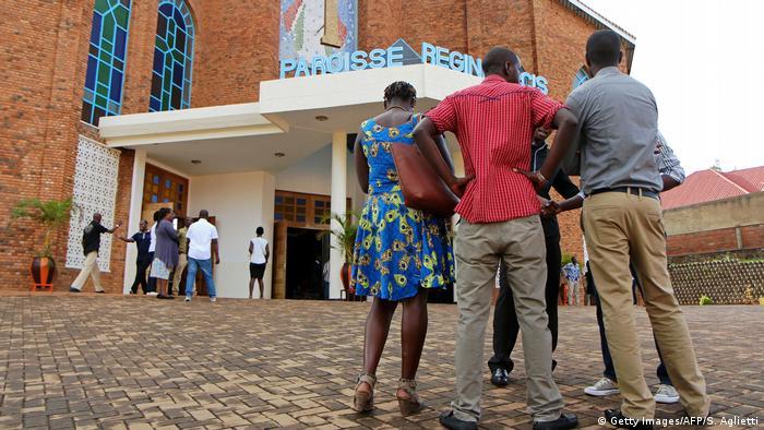 Igreja em Kigali (foto de arquivo/2016)