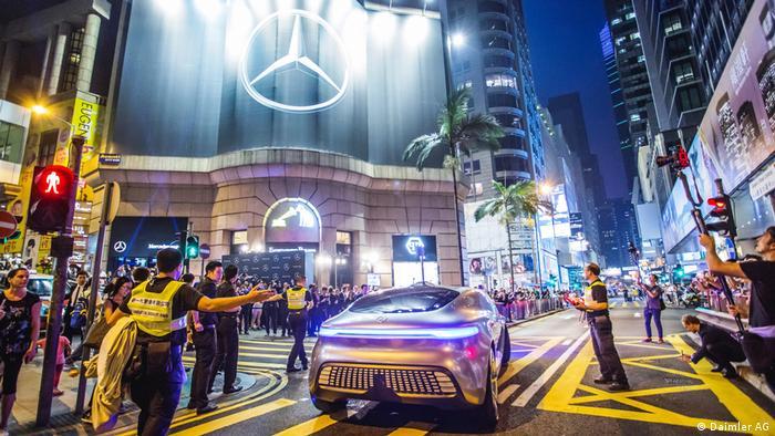 Hong Kong - Mercedes Me Store Eröffnung (Daimler AG)