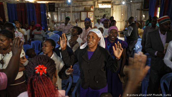 Around 40% of all Africans are Christian