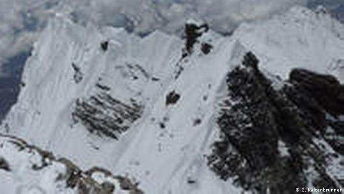 Gipfelgrat des Lhotse