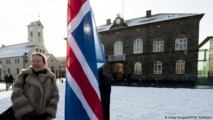 Island Reykjavik Parlament (Getty Images/AFP/H. Kolbeins)