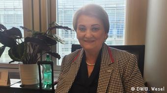 Anna Zaborska, MEP from Slovakia (DW/B. Wesel)
