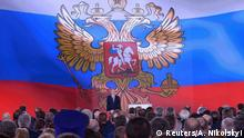 Russland Putin hält kurz vor Wahl traditionelle Jahresansprache