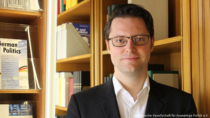 Sebastian Sons von der Deutschen Gesellschaft für Auswärtige Politik e.V.