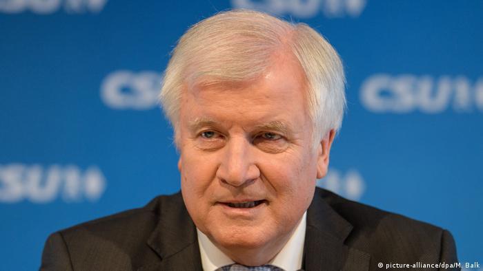 Ministrul federal de interne, Horst Seehofer