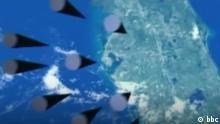Screenshot BBC- russische 'unsichtbare' Atomraketen