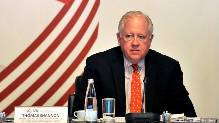 Kolumbien US-Staatssekretär Thomas Shannon in Bogota