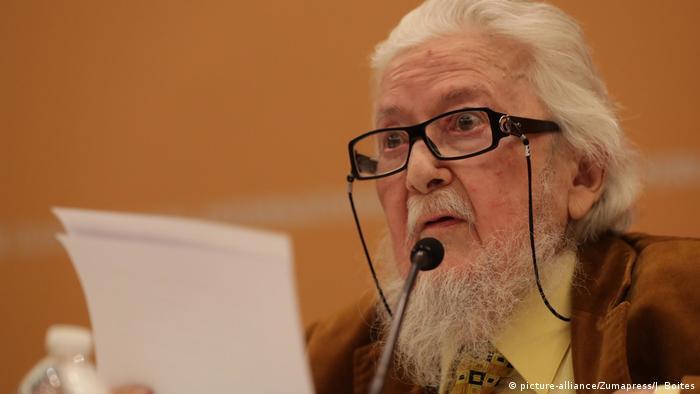 Schriftsteller Fernando del Paso (picture-alliance/Zumapress/J. Boites)