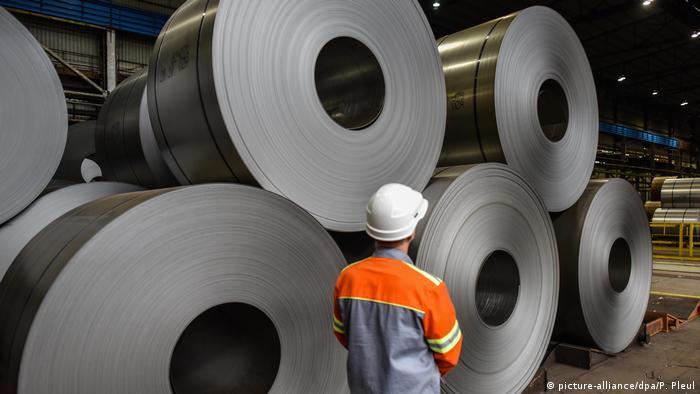 Trump kündigt Strafzölle für Stahl und Aluminium an (picture-alliance/dpa/P. Pleul)