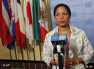 سوزان رایس، نماینده آمریکا در شورای امنیت