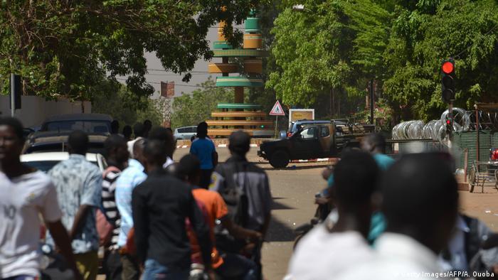 Burkina Faso Ouagadougou Explosionen