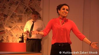 مهرنوش مهدی؛ تنها بازیگر ایرانی گروه