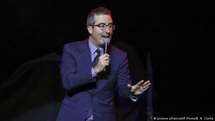 Comedian and pundit John Oliver brought the tumultous Italian election to the attention of a wider audience in one of his famous TV segments, skewering Berlusconi. Oliver's solution to Italy's unwieldy democracy? Encouraging Italian lawmakers to appoint him: Incredibly, I am far from your worst option, he joked while cuddling a lamb.
