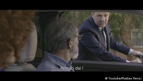 Campaign ad featuring Italian former Prime Minister Matteo Renzi (Youtube/Matteo Renzi )