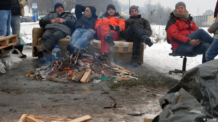 Bosnien und Herzegowina - Proteste