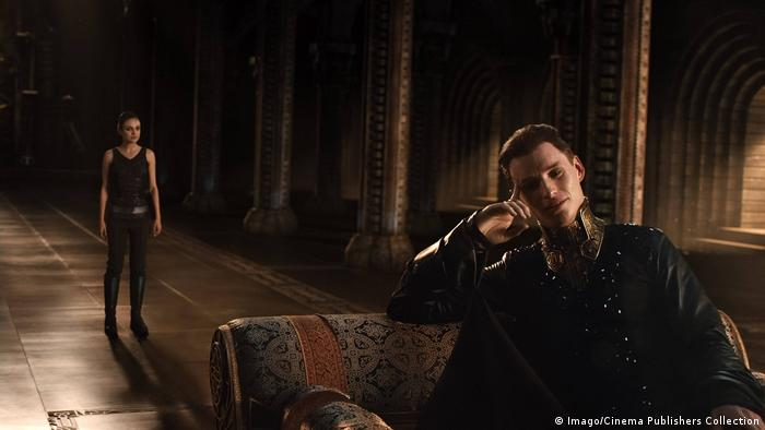 Eddie Redmayne als Schurke Balem Abrasax in Jupiter Ascending. (Imago/Cinema Publishers Collection)