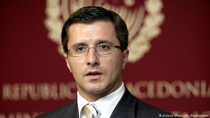 Mazedonien   ehemaliger VerteidigungsministerLazar Elenovski (picture-alliance/U. Baumgarten)