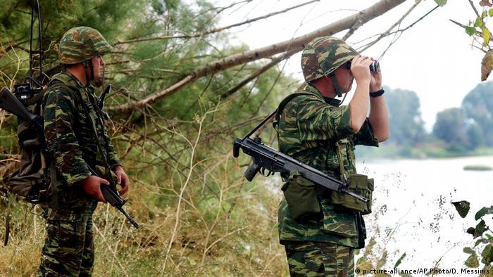 Griechische Grenzsoldaten