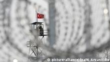 Grenze zwischen Griechenland und Türkei