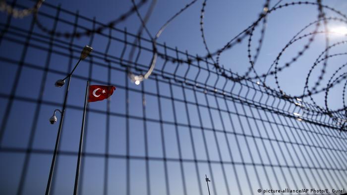 Grenze zwischen Griechenland und Türkei (picture-alliance/AP Photo/E. Gurel)