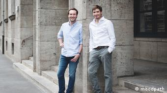 App against depression: Moodpath Founders Mark Goering und Felix Frauendorf