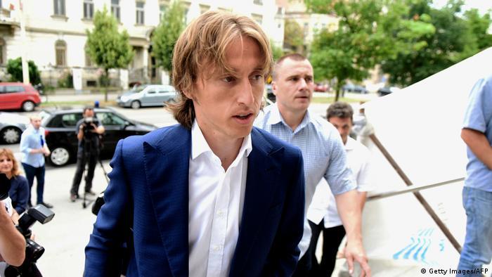 Kroatien   Fußballer Luka Modric der Falschaussage beschuldigt
