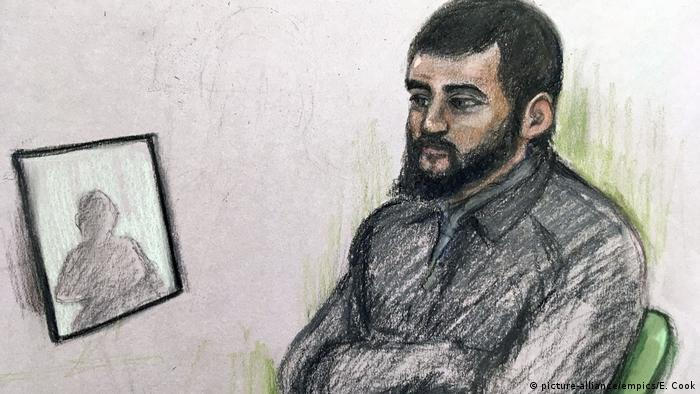 UK | trial of Umar Haque (picture-alliance/empics/E. Cook)