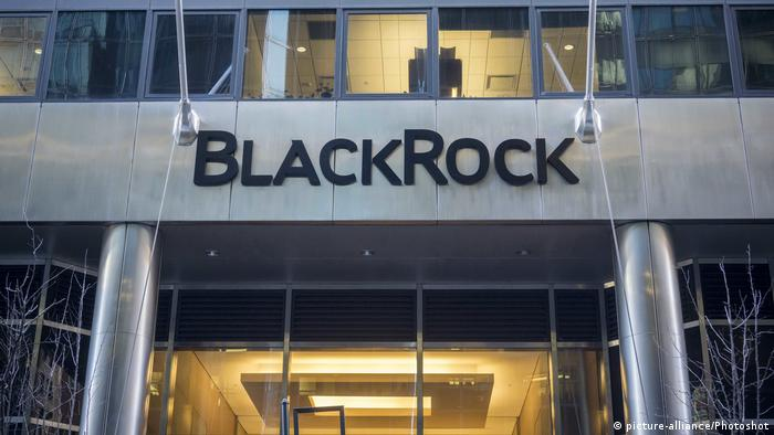 USA Zentrale von BlackRock in New York