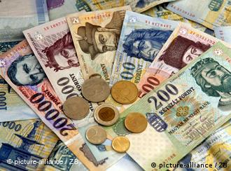 Hungary's forint currency