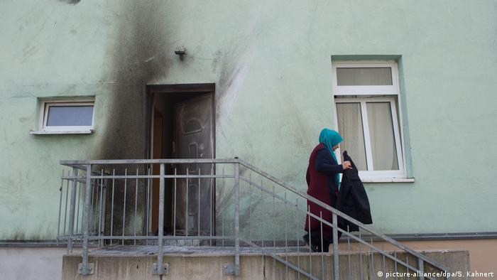 Deutschland Anschlag auf Dresdner Moschee Verdächtiger