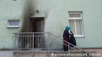 Εμφανή τα ίχνη εμπρηστικής επίθεσης σε τζαμί της Δρέσδης το 2016