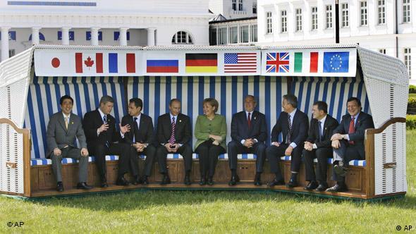 Flash-Galerie Deutschland 60 Jahre Kapitel 6 1999 – 2009 G8 Heiligendamm