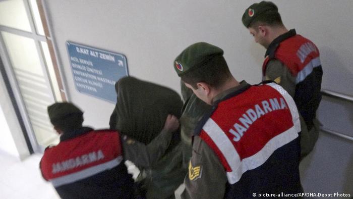 Two Greek soldiers accused of spying in Turke