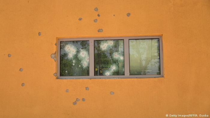 Foto de arquivo (2018): Ataque contra embaixada francesa em Ouagadougou