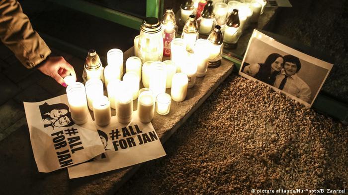 Slowakei Ermordeter Journalist Kuciak beigesetzt