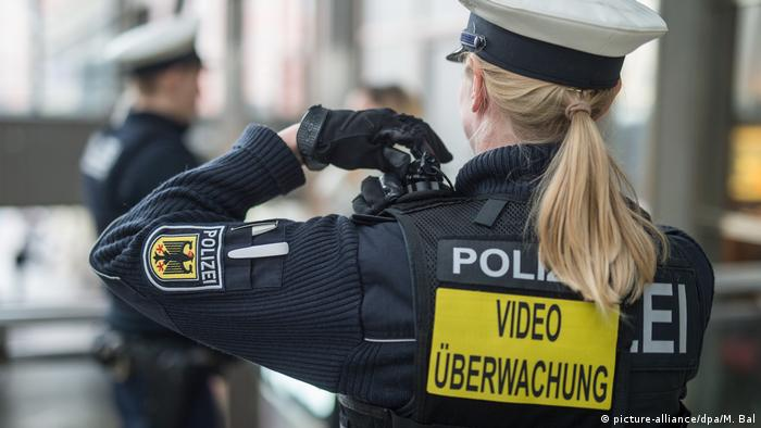 A policewoman in Munich