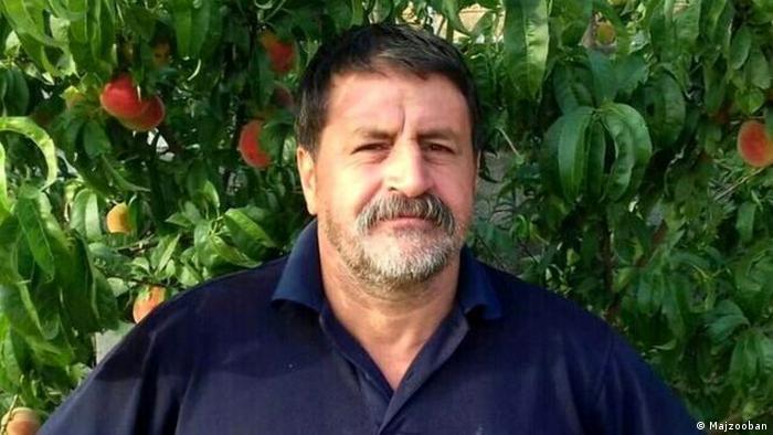 Mohammad Raji, iranischer Derwisch Gonabadi (Majzooban)