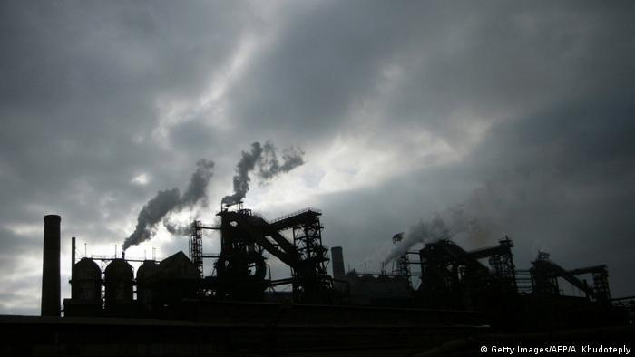 Падіння виробництва особливо помітне в українській металургічній галузі