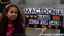 Mazedonien Proteste Namensstreit