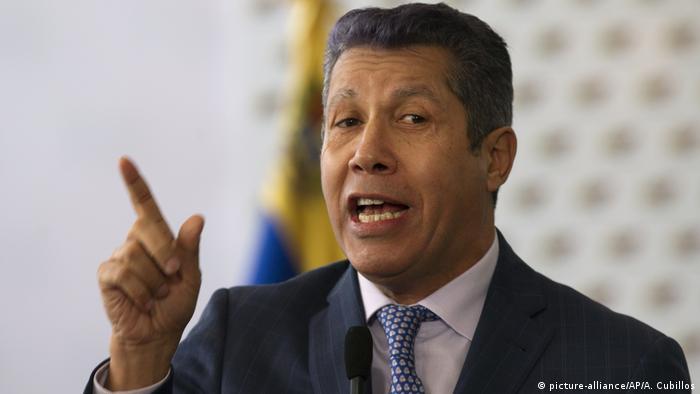 Venezuela Präsidentschaftskandidat Henri Falcon (picture-alliance/AP/A. Cubillos)