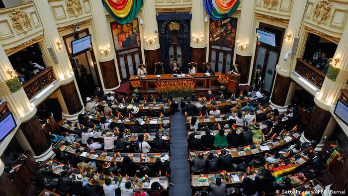 Bolivien Parlament Übersicht (Getty Images/AFP/J. Bernal)
