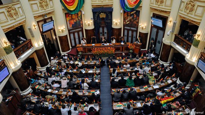 Bolivien Parlament Übersicht