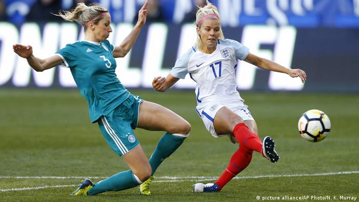 USA Frauenfussball SheBelieves Cup Deutschland - England (picture alliance/AP Photo/N. K. Murray)