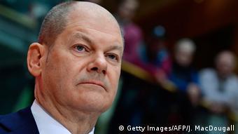 Deutschland SPD sagt Ja zur GroKo | Olaf Scholz (Getty Images/AFP/J. MacDougall)