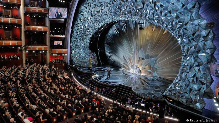 Inside the Oscars ceremony (Reuters/L. Jackson)