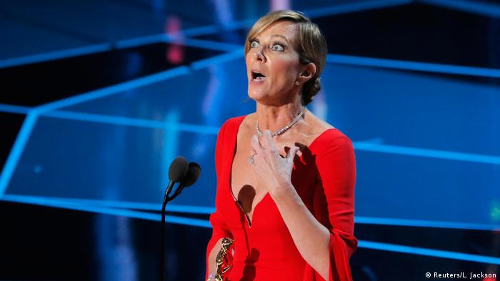 Best Supporting Actress Allison Janney at the Oscars (Reuters/L. Jackson)